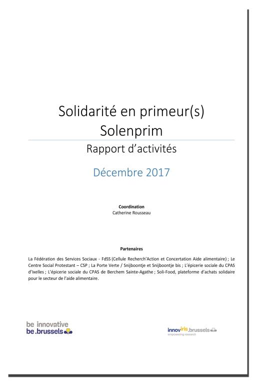 Solidarité en primeur(s) Solenprim